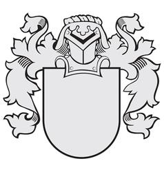 aristocratic emblem No24 vector image