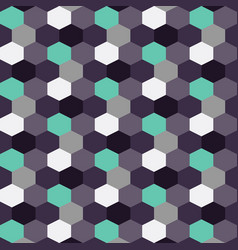 Blueberry background pattern color hexagon vector