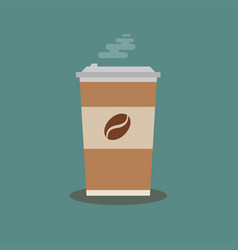Coffee cup isolated on vector