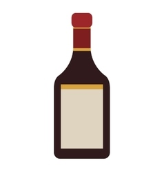 liquor bottle icon vector image