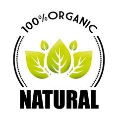Organic and Natural Product vector