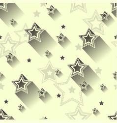 Star seamless patterns vector