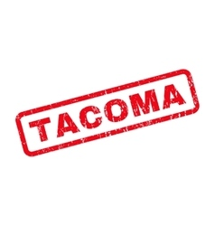Tacoma Rubber Stamp vector