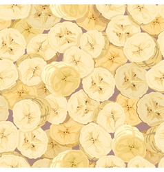 wallpaper of the cut bananas vector image vector image