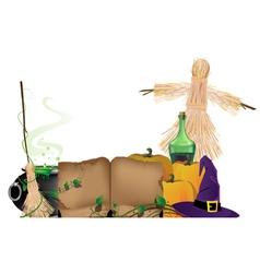 Halloween witchcraft vector image vector image