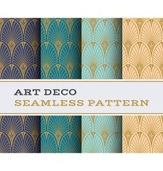 Art Deco seamless pattern 07 vector image