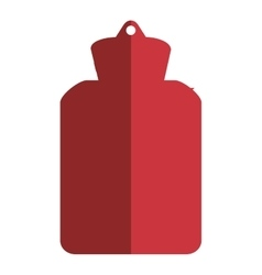 Hot water bottle icon vector