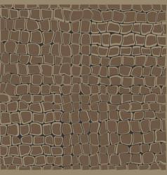 stone wall seamless vector image