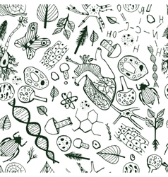 Biological Background vector image