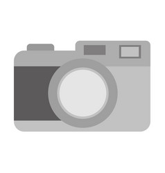 digital camera electronic object technology vector image