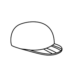 Golf hat icon Sport concept graphic vector