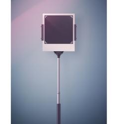 Monopod Selfie vector image