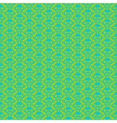 seamless pattern in tropical green vector image