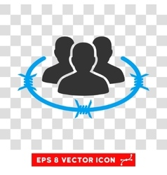 Strict Management Eps Icon vector