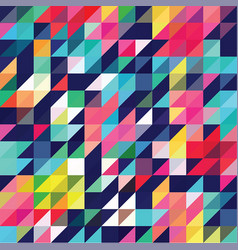 Triangle geometric shapes pattern vector