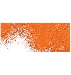 Orange texture vector