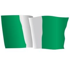 flag of Nigeria vector image vector image