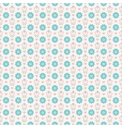 Pastel loving wedding seamless pattern tiling vector image vector image