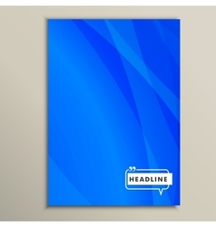 abstract pictures of bright blue vector image vector image