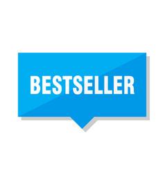 bestseller price tag vector image