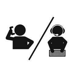 Customer and operator vector