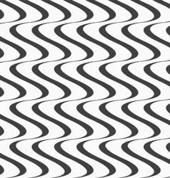 Flat gray with solid vertical waves vector