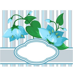 floral pattern with space for vector image