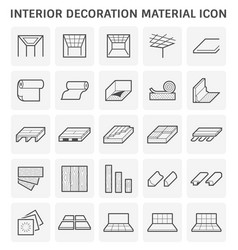 interior icon design vector image