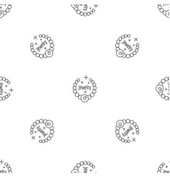 jewelry pattern seamless vector image