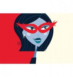masquerade party mask vector image