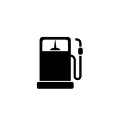 refueling column flat icon vector image