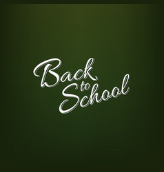 stock calligraphy back to vector image