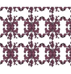 Classic vintage ornament pattern vector
