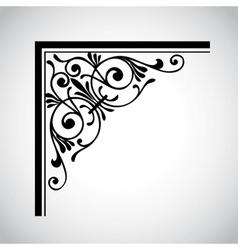 decorative vintage design element 4 vector image
