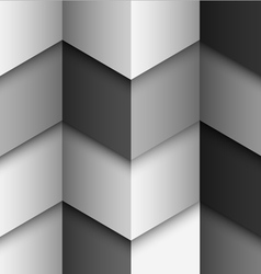 Geometric monochromatic structured background vector image vector image