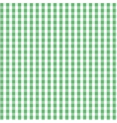 seamless green plaid pattern vector image vector image