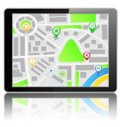 GPS Navigation System vector image vector image