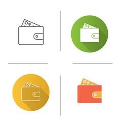 Account balance icon vector