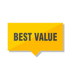 Best value price tag vector