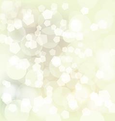Christmas bokeh vector image