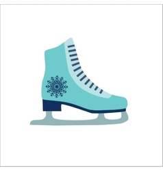 Colorful skate icon vector