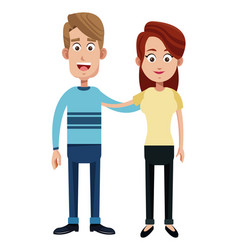Couple family adult image vector