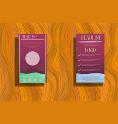 elements for infographics on background vector image