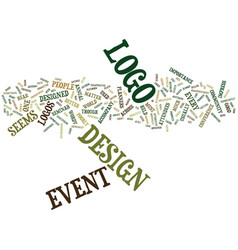 Event logos still sub par jonathan munk text vector