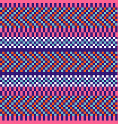geometric herringbone stripes seamless pattern vector image