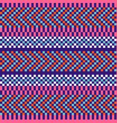 Geometric herringbone stripes seamless pattern vector
