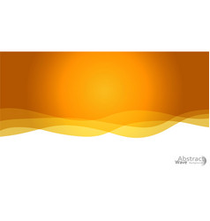 light orange moon pattern with lava shapes vector image