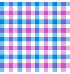 Purple Blue Check Tablecloth Seamless Pattern Vector ...
