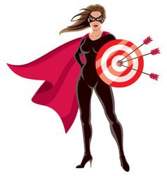 Super heroine target vector