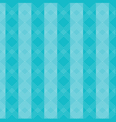 triangles wavy lines pattern on blue striped vector image